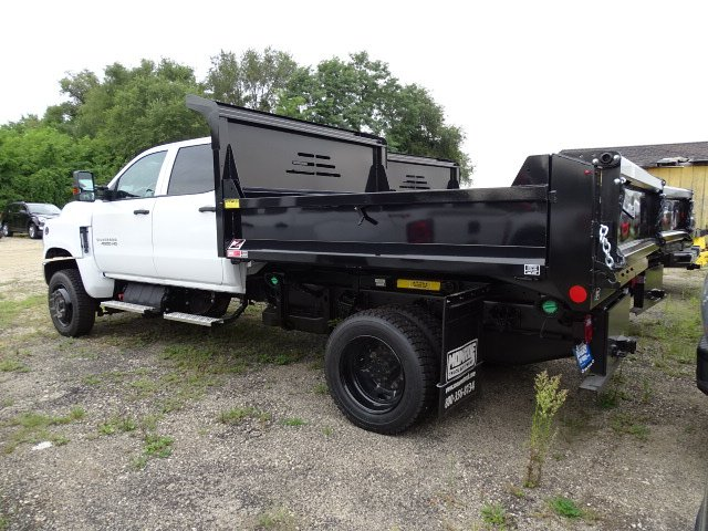 2019 Silverado Medium Duty Crew Cab DRW 4x4, Monroe MTE-Zee Dump Body #3190825 - photo 2