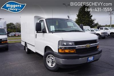 2019 Chevrolet Express 3500 RWD, Unicell Aerocell CW Cutaway Van #3190923 - photo 1
