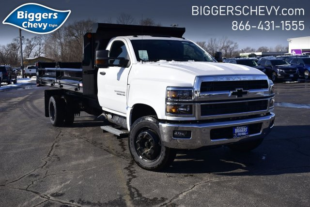2019 Chevrolet Silverado Medium Duty Regular Cab DRW RWD, Crysteel Contractor Dump Body #3190970 - photo 1