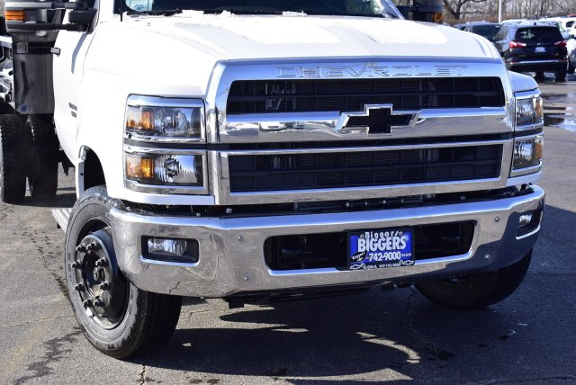 2019 Chevrolet Silverado Medium Duty Regular Cab DRW RWD, Crysteel Contractor Dump Body #3190970 - photo 3