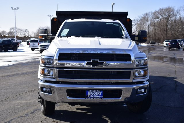 2019 Chevrolet Silverado Medium Duty Regular Cab DRW RWD, Crysteel Contractor Dump Body #3190970 - photo 4