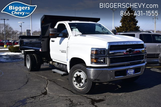 2019 Silverado Medium Duty Regular Cab DRW 4x2, Monroe MTE-Zee Dump Body #3190974 - photo 1
