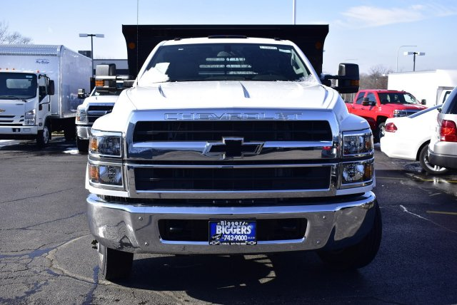 2019 Silverado Medium Duty Regular Cab DRW 4x2, Monroe MTE-Zee Dump Body #3190974 - photo 4