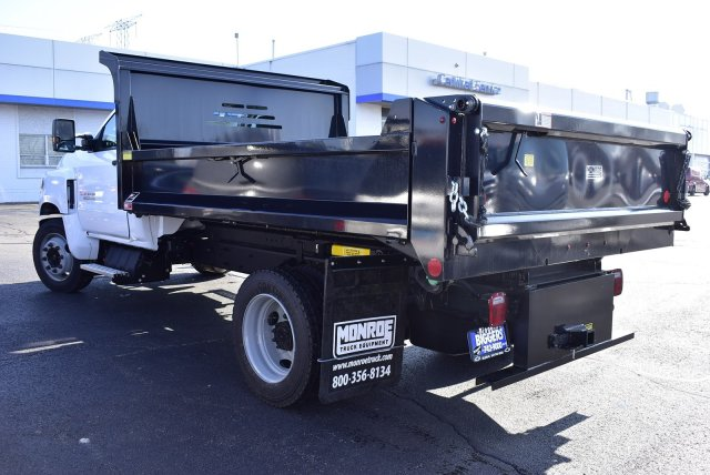 2019 Silverado Medium Duty Regular Cab DRW 4x2, Monroe MTE-Zee Dump Body #3190974 - photo 9