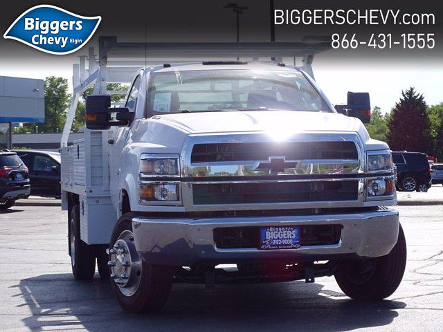 2019 Chevrolet Silverado Medium Duty Regular Cab DRW 4x2, Monroe AL Series Platform Body Contractor Body #3191014 - photo 1
