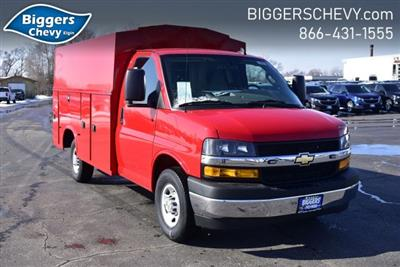 2020 Chevrolet Express 3500 RWD, Knapheide KUV Service Utility Van #3200361 - photo 1