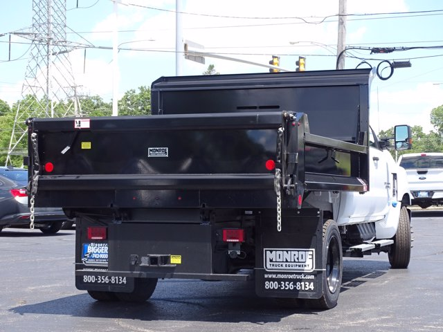 2020 Chevrolet Silverado Medium Duty Crew Cab DRW RWD, Monroe MTE-Zee Dump Body #3200495 - photo 2