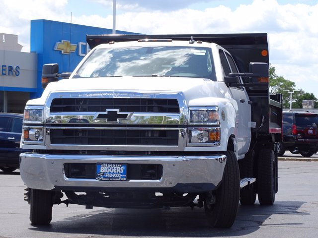 2020 Chevrolet Silverado Medium Duty Crew Cab DRW RWD, Monroe MTE-Zee Dump Body #3200495 - photo 17