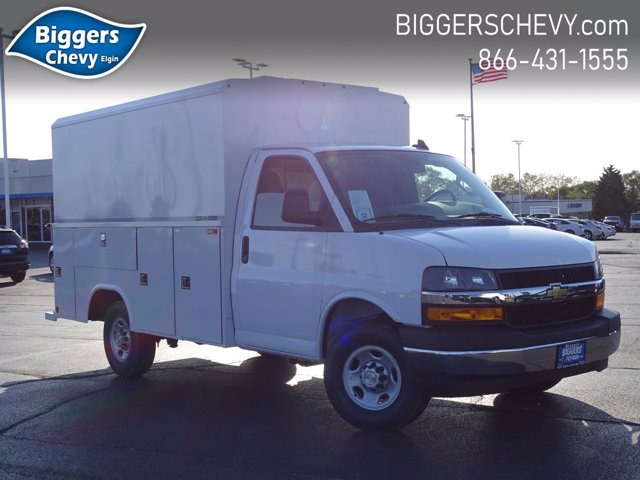 2020 Chevrolet Express 3500 RWD, Reading Aluminum CSV Service Utility Van #3200899 - photo 1