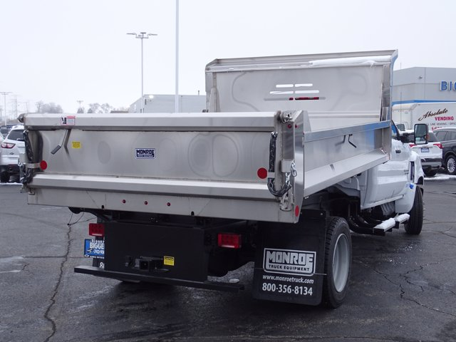 2020 Chevrolet Silverado Medium Duty Crew Cab DRW 4x2, Monroe MTE-Zee Dump Body #3200908 - photo 2