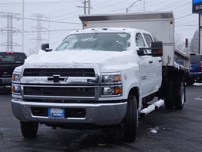 2020 Chevrolet Silverado Medium Duty Crew Cab DRW 4x2, Monroe MTE-Zee Dump Body #3200908 - photo 6
