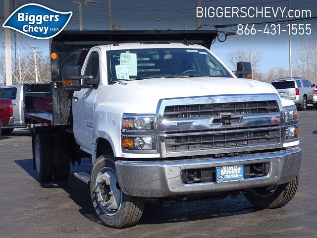 2020 Chevrolet Silverado Medium Duty Regular Cab DRW 4x2, Monroe Dump Body #3200951 - photo 1