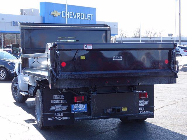 2020 Silverado Medium Duty Regular Cab DRW 4x2,  Monroe Truck Equipment MTE-Zee Dump Body #3200951 - photo 12