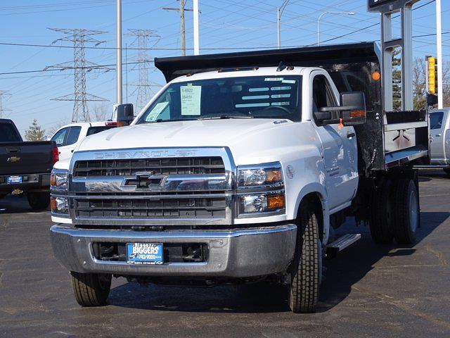 2020 Silverado Medium Duty Regular Cab DRW 4x2,  Monroe Truck Equipment MTE-Zee Dump Body #3200951 - photo 6