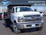 2020 Silverado Medium Duty Regular Cab DRW 4x2,  Monroe Truck Equipment MTE-Zee Dump Body #3200951 - photo 1