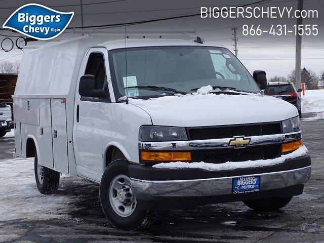 2020 Chevrolet Express 3500 4x2, Reading Aluminum CSV Service Utility Van #3200972 - photo 1