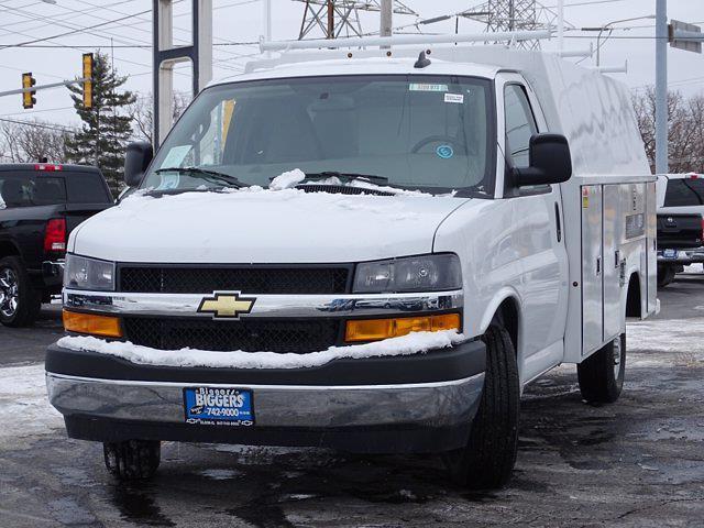 2020 Chevrolet Express 3500 4x2, Reading Aluminum CSV Service Utility Van #3200972 - photo 6