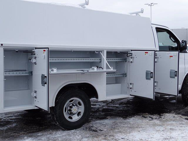 2020 Chevrolet Express 3500 4x2, Reading Aluminum CSV Service Utility Van #3200972 - photo 9