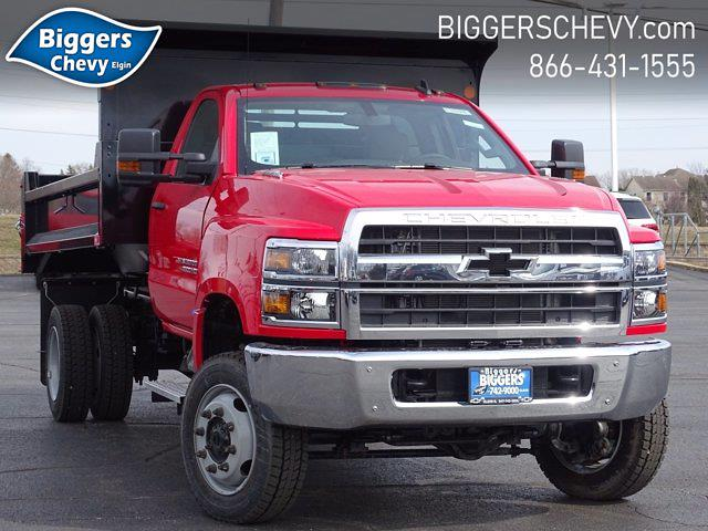 2020 Chevrolet Silverado Medium Duty Regular Cab DRW 4x4, Monroe Dump Body #3200976 - photo 1