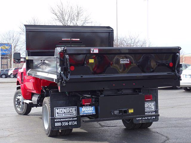2020 Chevrolet Silverado Medium Duty Regular Cab DRW 4x4, Monroe MTE-Zee Dump Body #3200976 - photo 11