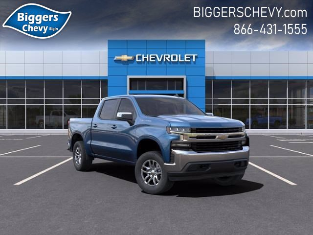 2021 Chevrolet Silverado 1500 Crew Cab 4x4, Pickup #3210069 - photo 1