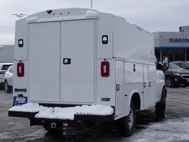 2021 Chevrolet Express 3500 4x2, Knapheide KUV Service Utility Van #3210290 - photo 2