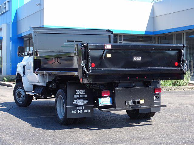 2021 Silverado Medium Duty Regular Cab DRW 4x4,  Monroe Truck Equipment MTE-Zee Dump Body #3210329 - photo 12