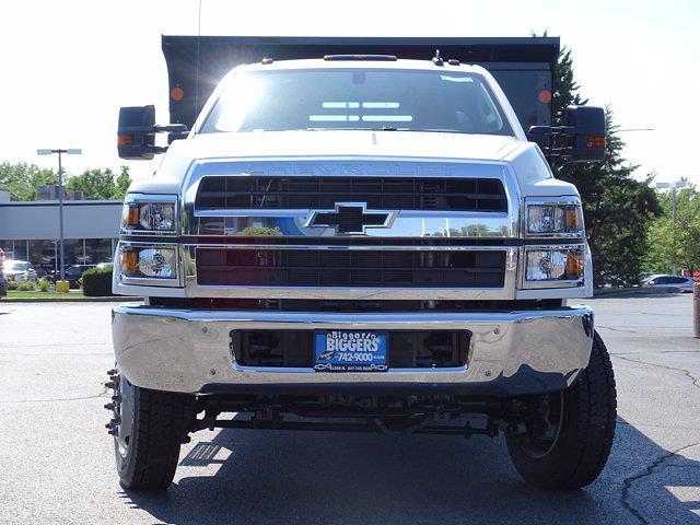 2021 Silverado Medium Duty Regular Cab DRW 4x4,  Monroe Truck Equipment MTE-Zee Dump Body #3210329 - photo 5