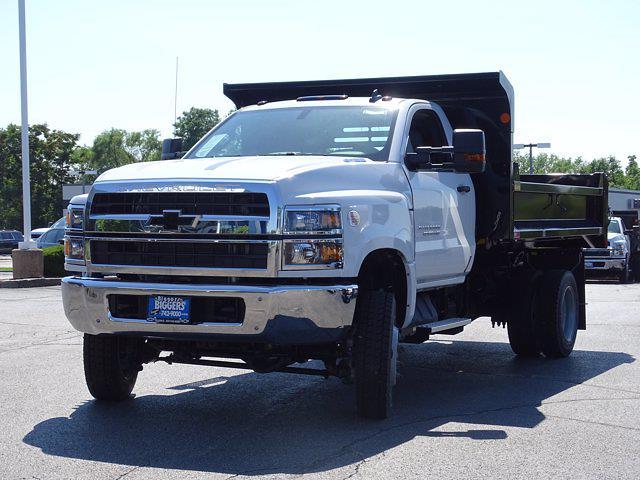 2021 Silverado Medium Duty Regular Cab DRW 4x4,  Monroe Truck Equipment MTE-Zee Dump Body #3210329 - photo 6