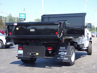 2021 Silverado Medium Duty Regular Cab DRW 4x4,  Monroe Truck Equipment MTE-Zee Dump Body #3210329 - photo 2