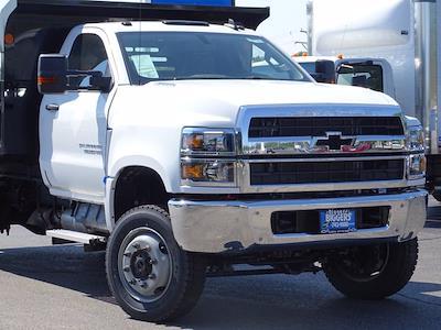 2021 Silverado Medium Duty Regular Cab DRW 4x4,  Monroe Truck Equipment MTE-Zee Dump Body #3210329 - photo 3