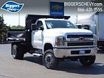 2021 Silverado Medium Duty Regular Cab DRW 4x4,  Monroe Truck Equipment MTE-Zee Dump Body #3210329 - photo 1