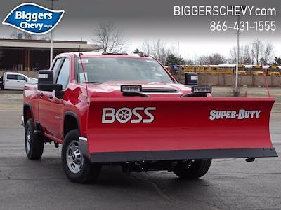 2021 Chevrolet Silverado 2500 Double Cab 4x4, BOSS Snowplow Pickup #3210367 - photo 1