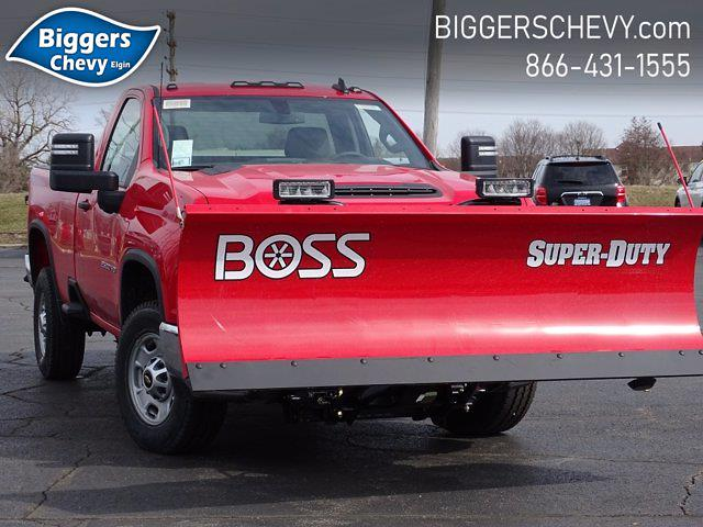 2021 Chevrolet Silverado 2500 Regular Cab 4x4, BOSS Snowplow Pickup #3210370 - photo 1