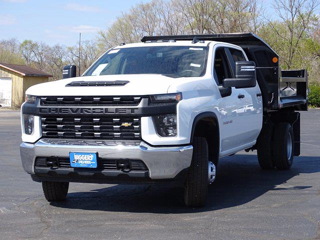 2021 Chevrolet Silverado 3500 Crew Cab AWD, Dump Body #3210382 - photo 6