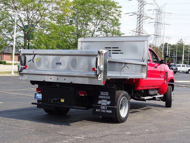 2021 Silverado Medium Duty Crew Cab DRW 4x4,  Dump Body #3210406 - photo 2