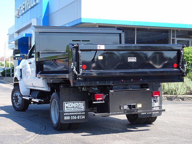2021 Silverado Medium Duty Crew Cab DRW 4x4,  Monroe Truck Equipment MTE-Zee Dump Body #3210427 - photo 14