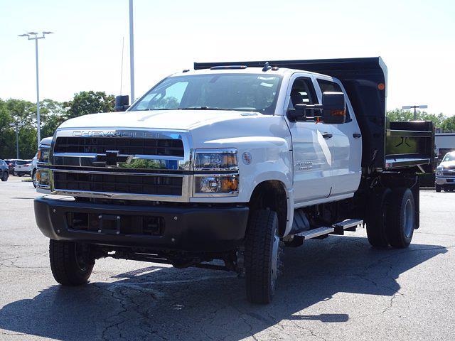 2021 Silverado Medium Duty Crew Cab DRW 4x4,  Monroe Truck Equipment MTE-Zee Dump Body #3210427 - photo 6