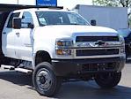 2021 Silverado Medium Duty Crew Cab DRW 4x4,  Monroe Truck Equipment MTE-Zee Dump Body #3210427 - photo 3