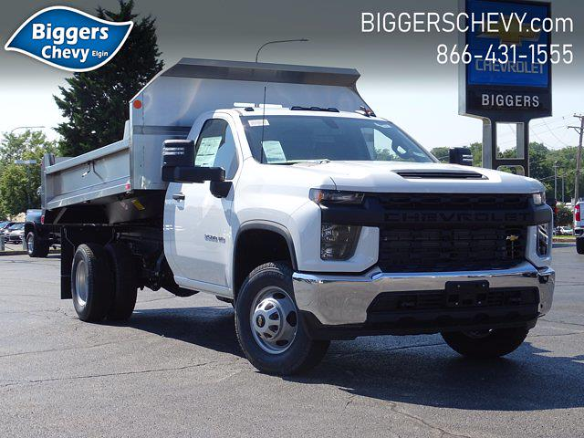 2021 Silverado 3500 Regular Cab AWD,  Monroe Truck Equipment MTE-Zee Dump Body #3210436 - photo 1
