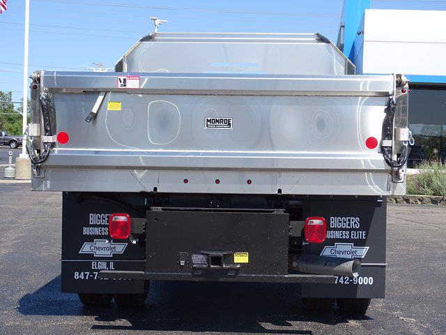 2021 Silverado 3500 Regular Cab AWD,  Monroe Truck Equipment MTE-Zee Dump Body #3210436 - photo 10