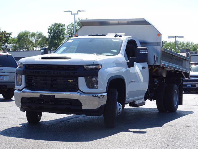 2021 Silverado 3500 Regular Cab AWD,  Monroe Truck Equipment MTE-Zee Dump Body #3210436 - photo 6