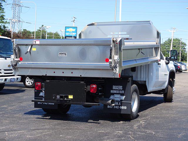 2021 Silverado 3500 Regular Cab AWD,  Monroe Truck Equipment MTE-Zee Dump Body #3210436 - photo 2