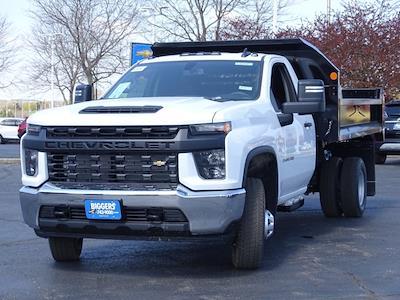 2021 Chevrolet Silverado 3500 Regular Cab AWD, Monroe MTE-Zee Dump Body #3210437 - photo 21