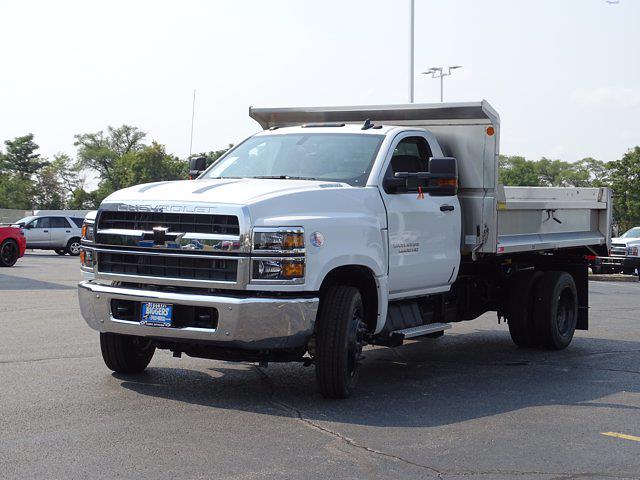 2021 Silverado Medium Duty Regular Cab DRW 4x2,  Monroe Truck Equipment MTE-Zee Dump Body #3210516 - photo 6