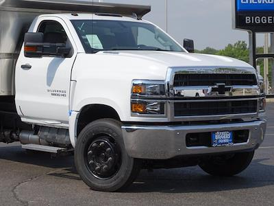 2021 Silverado Medium Duty Regular Cab DRW 4x2,  Monroe Truck Equipment MTE-Zee Dump Body #3210516 - photo 3