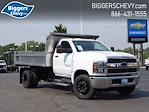 2021 Silverado Medium Duty Regular Cab DRW 4x2,  Monroe Truck Equipment MTE-Zee Dump Body #3210516 - photo 1