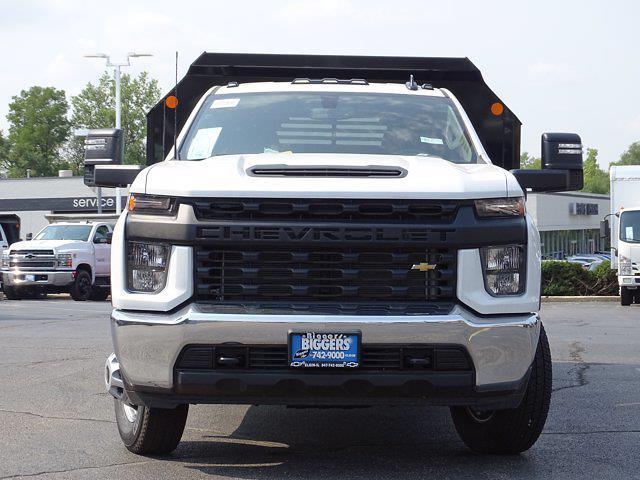2021 Silverado 3500 Regular Cab AWD,  Crysteel E-Tipper Dump Body #3210546 - photo 5