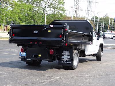 2021 Silverado 3500 Regular Cab AWD,  Crysteel E-Tipper Dump Body #3210546 - photo 2