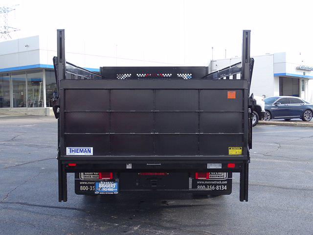 2021 Silverado Medium Duty Regular Cab DRW 4x2,  Monroe Truck Equipment Work-A-Hauler II Stake Bed #3210563 - photo 10